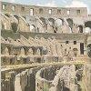 Roma. Interno dell'anfiteatro Flavio o Colosseo