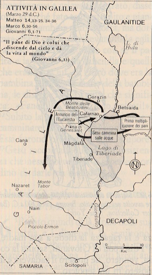 Attività in Galilea (Marzo 29 d.C.)
