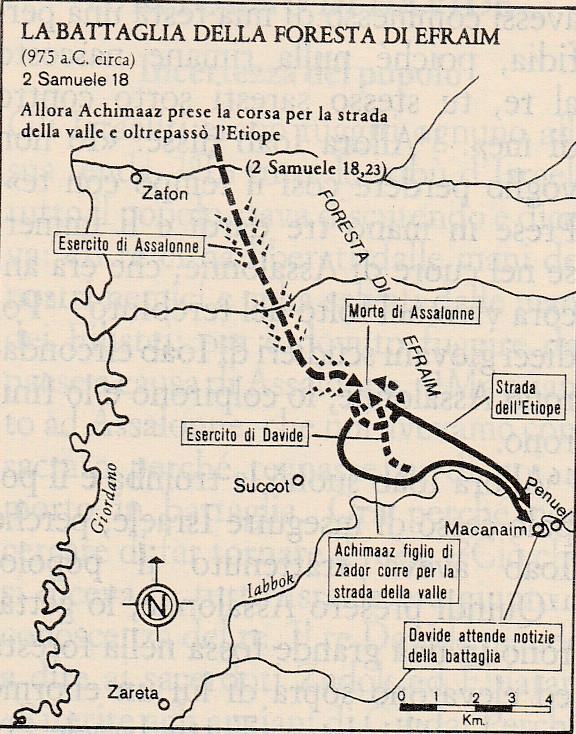 La battaglia della foresta di Efraim