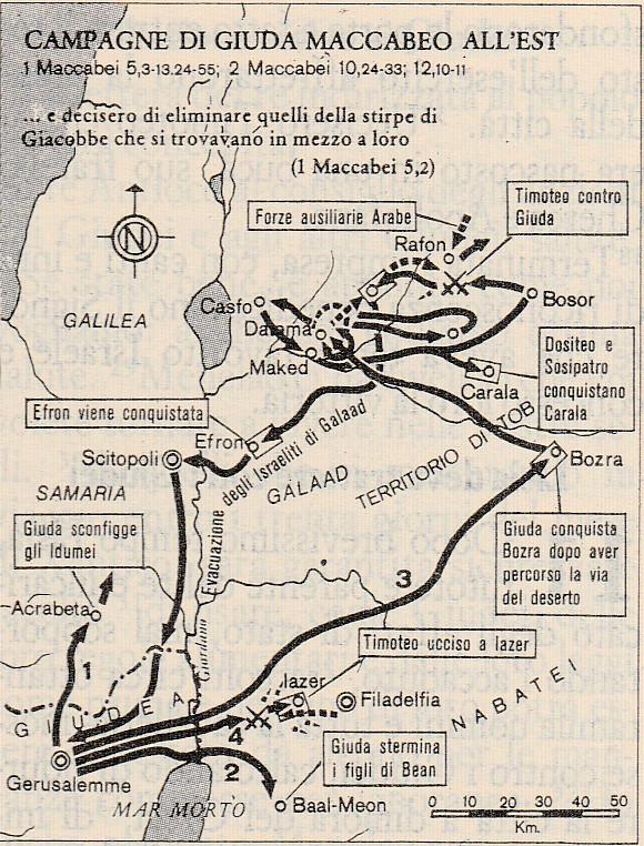 Campagne di Giuda Maccabeo all'Est