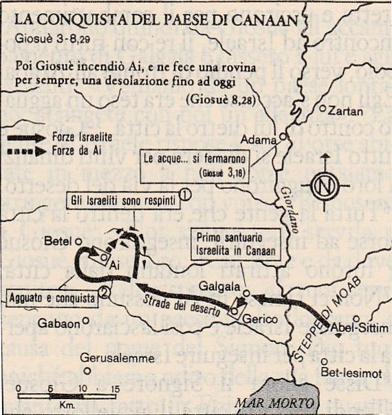 La conquista del paese di Canaan