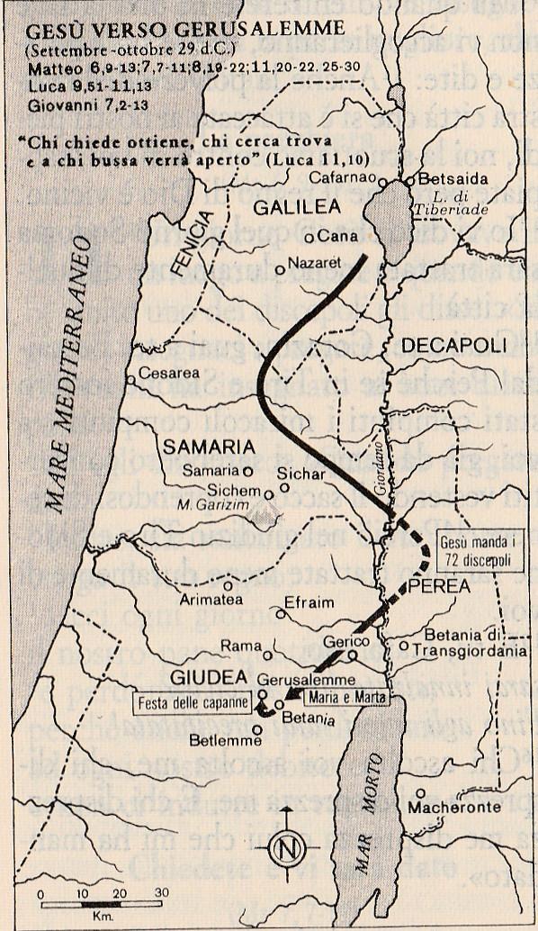 Gesù verso Gerusalemme