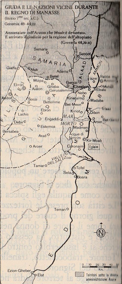 Giuda e le Nazioni vicine durante il regno di Manase