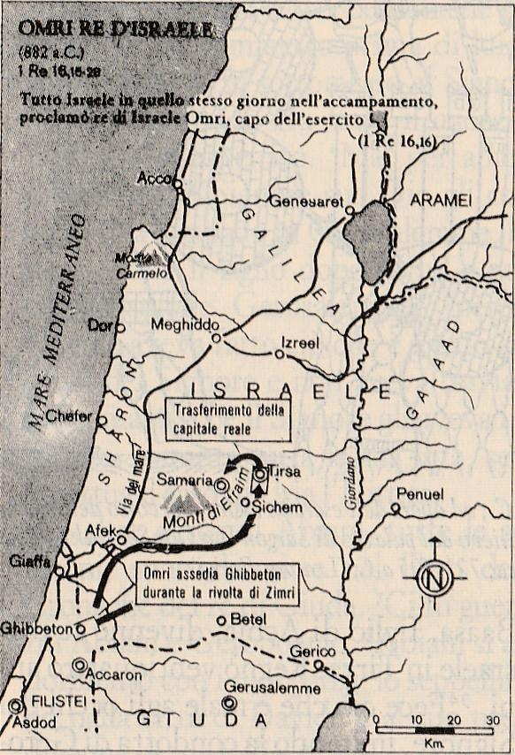 Omri re d'Israele