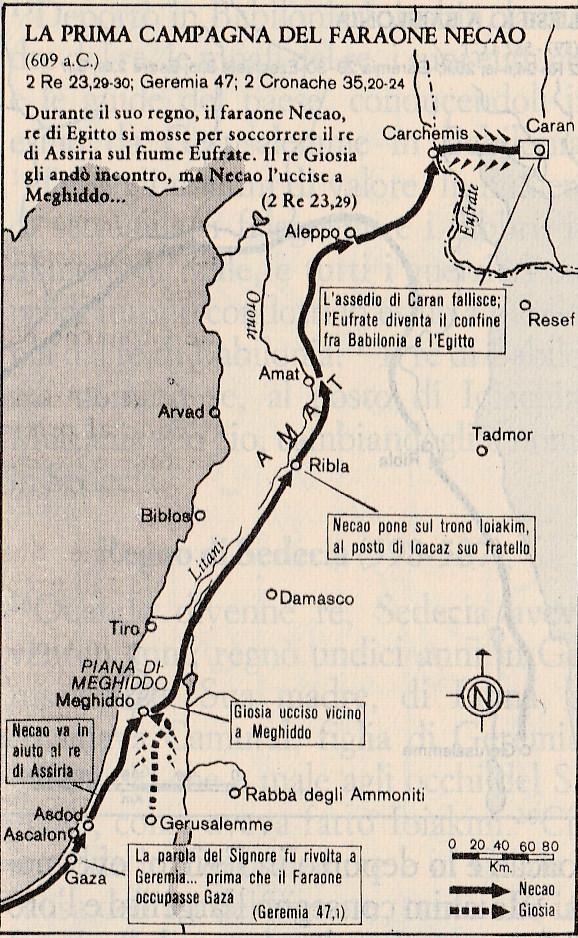 La prima campagna del faraone Necao