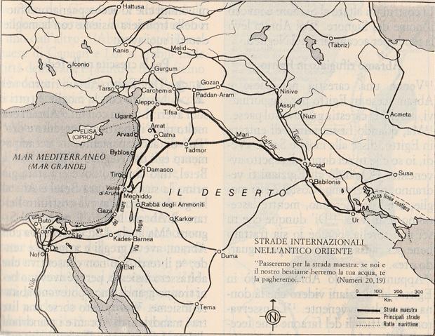 Strade Internazionali nell'antico Oriente