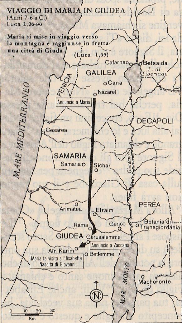 Viaggio di Maria in Giudea