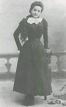Madre Maria Candida dell'Eucaristia (al secolo Maria Barba) all'età di 15 anni