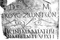 Vaticano Epigrafe Licinia Amias sec. III