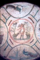 Catacomba di Priscilla , Il Buon Pastore sec. II - inizio III sec.